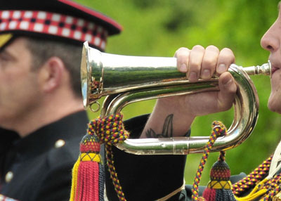 bugler player
