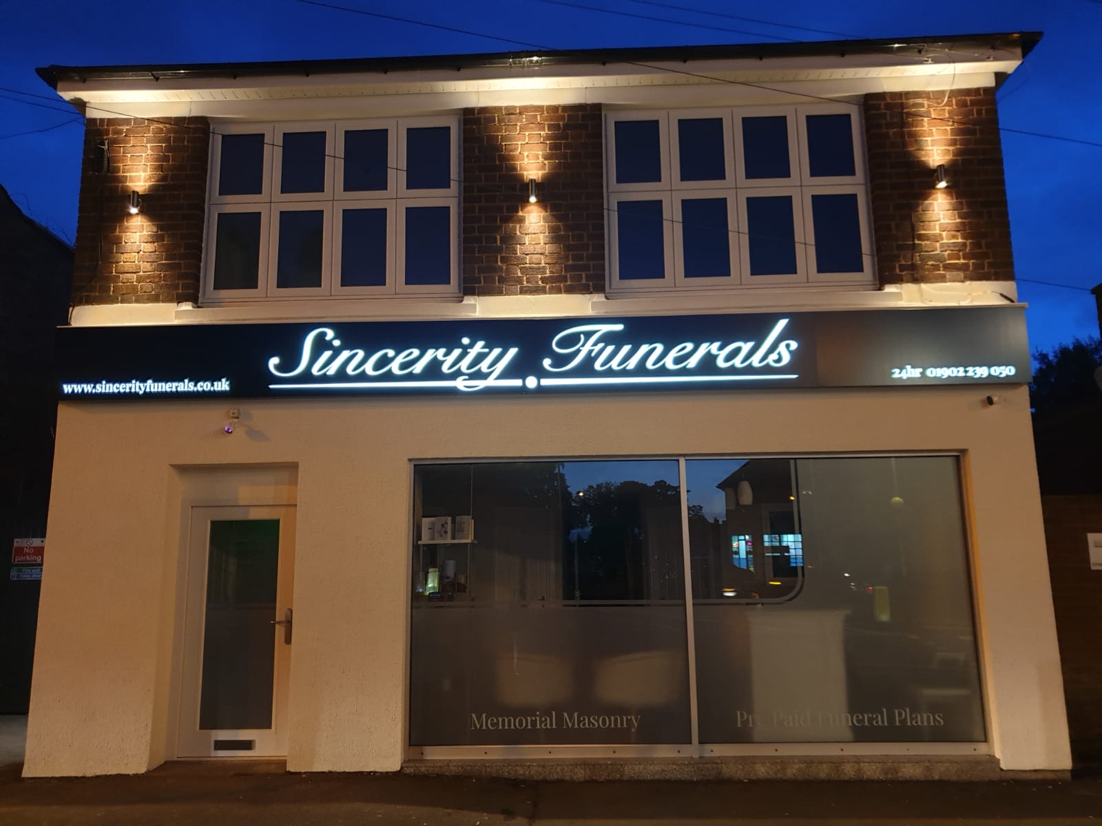 image of the front of Sincerity Funerals a Funeral Directors in Wolverhampton